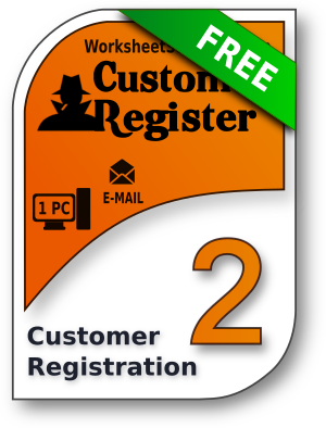 CustomerRegister 2 for Windows, CustomerRegister 2 for Linux 32 bit, CustomerRegister 2 for Linux 64 bit